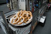 Pretzels in the Cold!